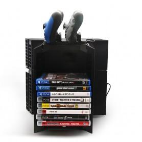 Rangement de DVD multifonction pour PS4